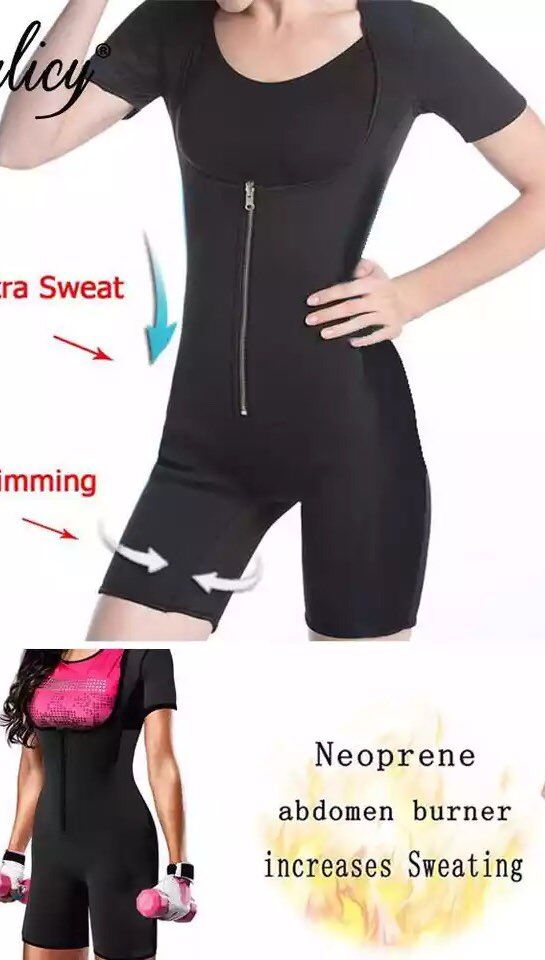 28f8468b218bd Palicy Women s Slimming Body Shapers Neoprene Sauna Suit Sexy Bodysuit -  sheheonline