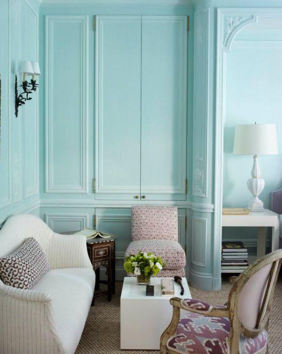 Tom Scheerer Decorates - blue