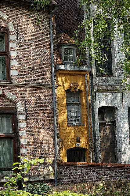A skinny house in Lille