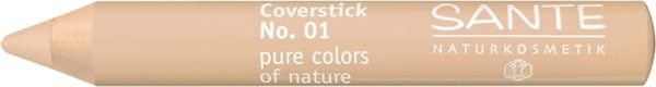 Sante Naturkosmetik Coverstick -Make dark circles around the eyes and small impurities disappear as if by magic. Cover small veins and moles in no time at all. Available in Light, Medium, Beige and Olive $15