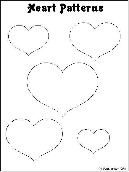 heart patterns mannerism