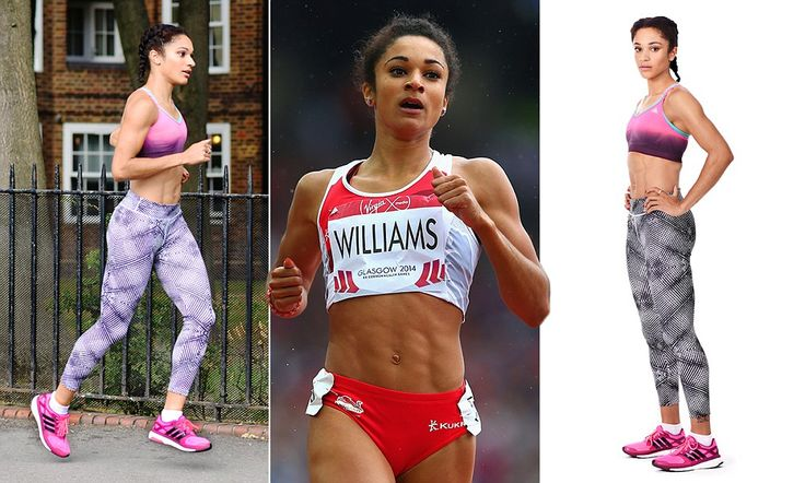 British sprinter Jodie Williams reveals secrets to amazing physique