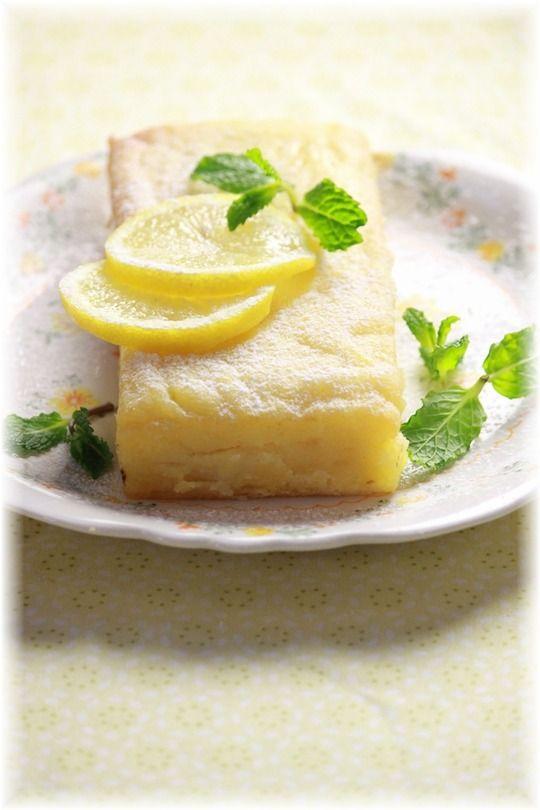 2STEP 200円で作れる もっちりレモンケーキ。