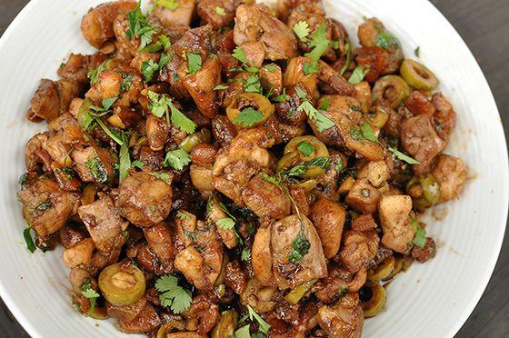 Moroccan Chicken Thighs | Chicken Recipes | Pinterest