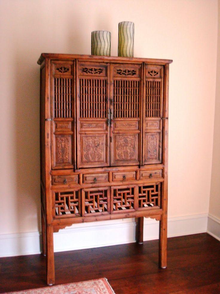 De 25 bedste id er inden for chinese furniture p for Oriental furniture