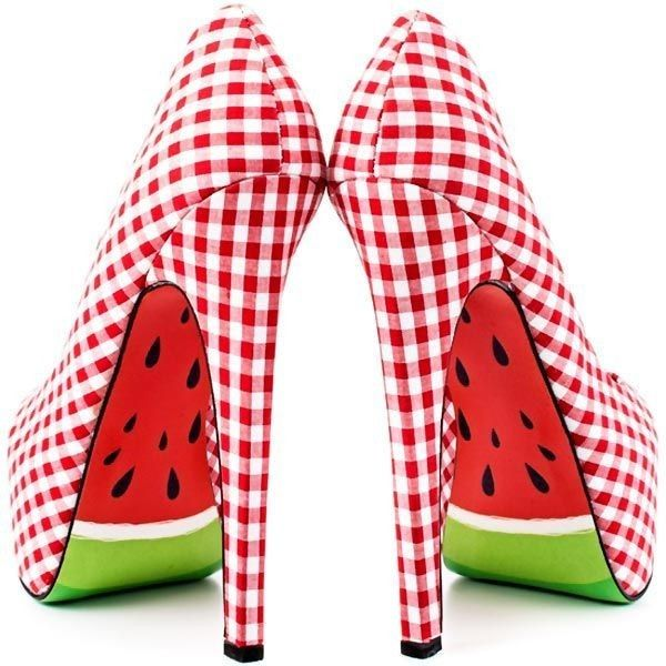 Watermelon Shoes Shoes I wish I could still wear
