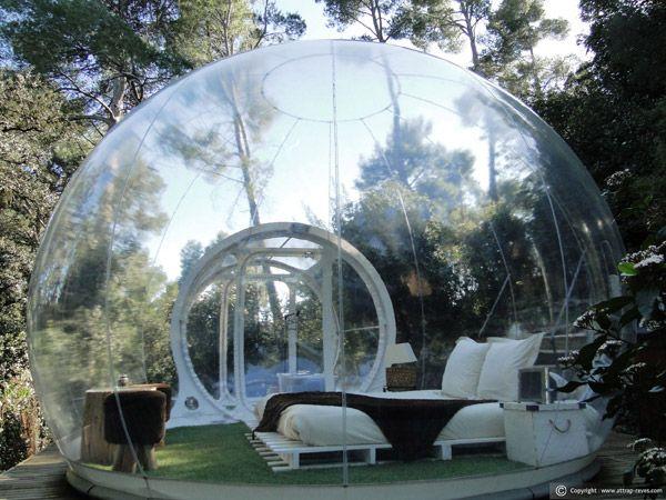 Posti Strani dove dormire con un bambino - bolle in provenza