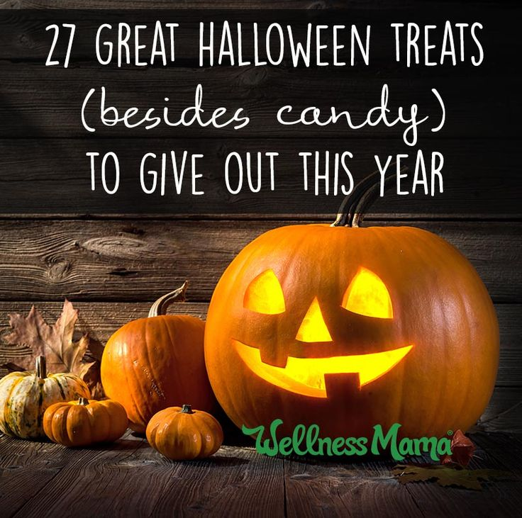 27 Great Halloween Treats to Give Out (Besides Candy)