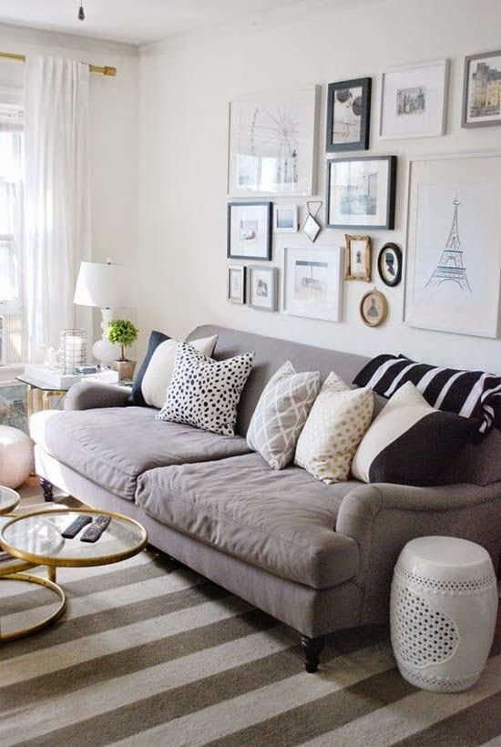 These Walls of White: high - low english roll arm collections