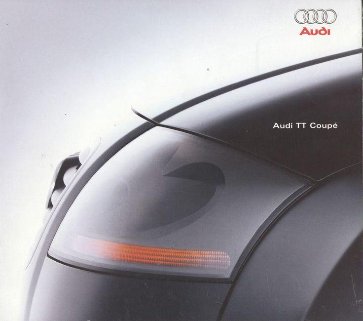 AUDI - TT Coupe full brochure/folder Dutch 1998