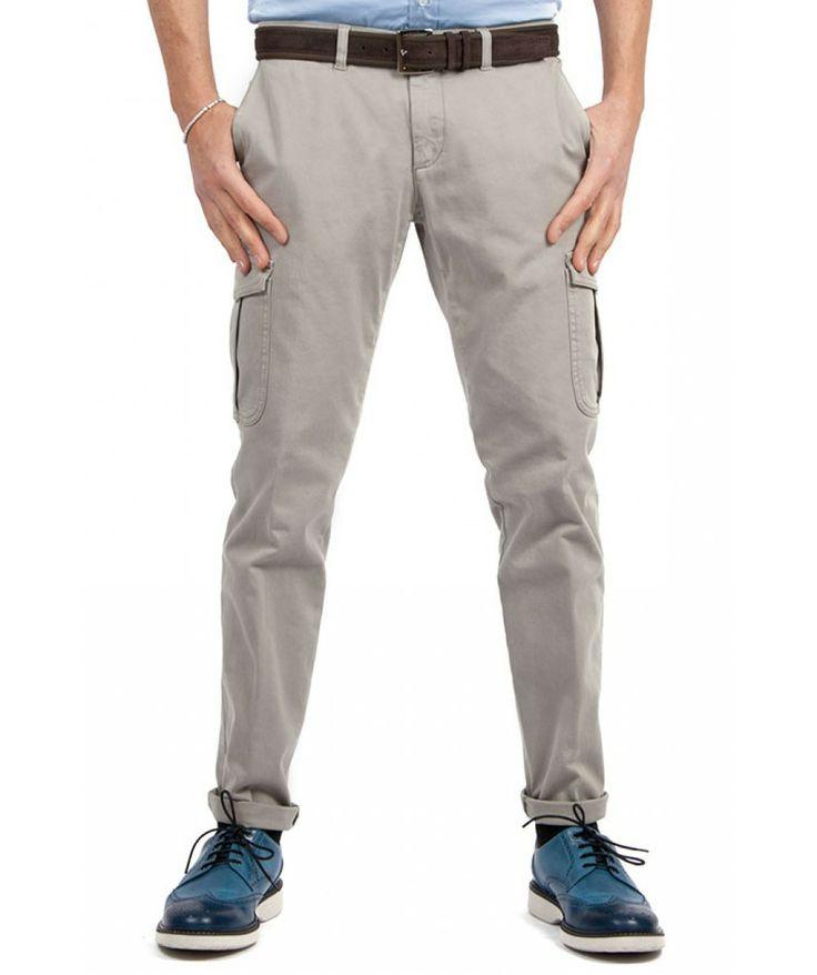 Groppetti Luxury Store - Pantalone Cargo - Eleventy Spring Summer Collection 2014 #eleventy #men #man #fashion