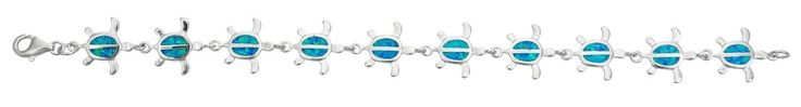 Sterling Silver Created Opal Turtle Bracelet. STERLING SILVER: This product is made of solid 925 Sterling Silver and each piece is carefully trademarked with the metal purity for certification. Each piece is stamped 925 and that guarantees the quality and craft. DESIGN & FINISH: We understand gold and we really understand the manufacturing process of precious metal. Each piece is carefully designed from scratch by our design department and we present to you our finished product. We trust...