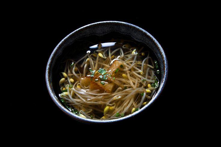もやしスープ ¥550