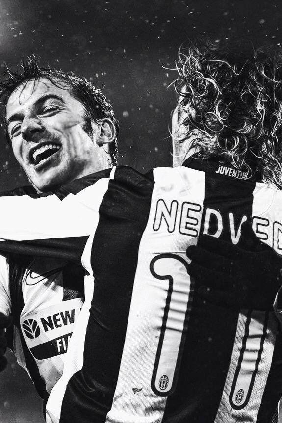 Del Piero e Neved