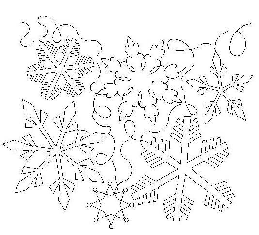 Free Snowflake Quilting Stencil : 1000+ images about Bed on Pinterest Snowflakes, Simple Snowflake and Snowflake Pattern