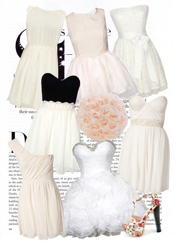 """""""Konfirmation dresses...which one is the prettiest??"""" by laurenwhite1405 ❤ liked on Polyvore"""