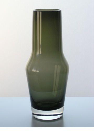 gralglas vase f199 überfang dorit 26 cm entwurf konrad habermeier 50er gral glas