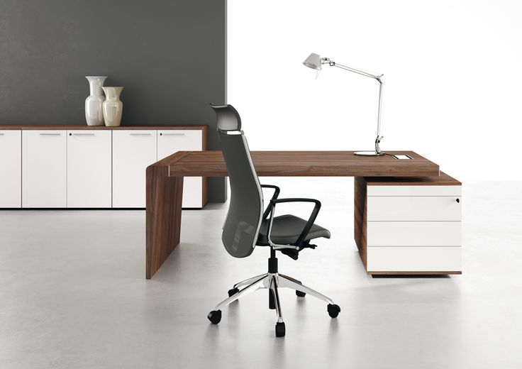 """CAPITAL #executive #office #officefurniture A high technology process, today reserved only to luxurious handcraft production, applied to the noble melamine: Capital. """"Luxury, not excess"""" also applied to the new Capital whose wood finishes of color contrast, offers customized combinations."""