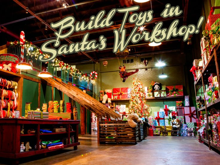 Great Places To See Santa Claus Places To See Toys And