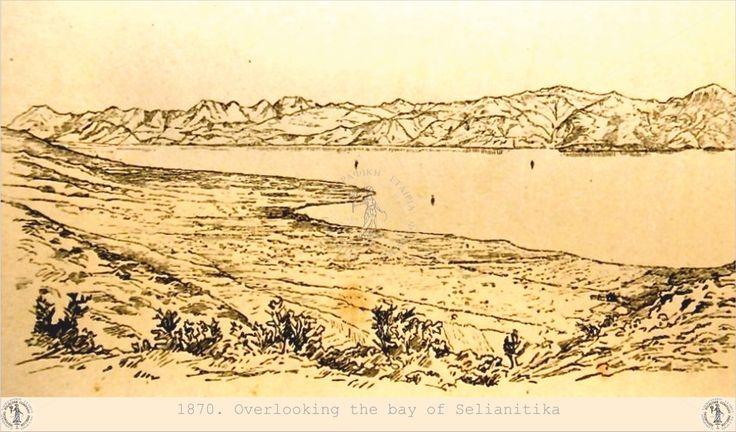 The bay of Selianitika.
