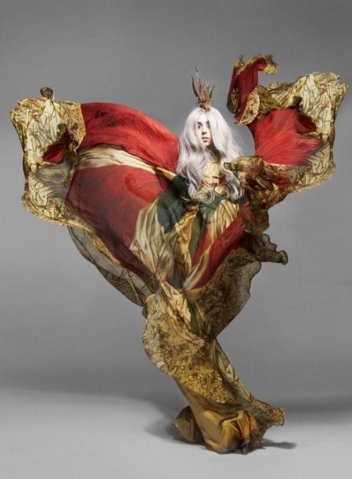 fashion editorial alexander mcqueen - Lady Gaga