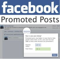 Here are the few steps to create or promote a posts on Facebook in order to improve their business page.