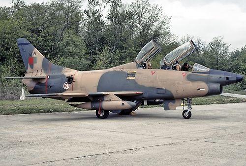 Portuguese Air Force FIAT G91.