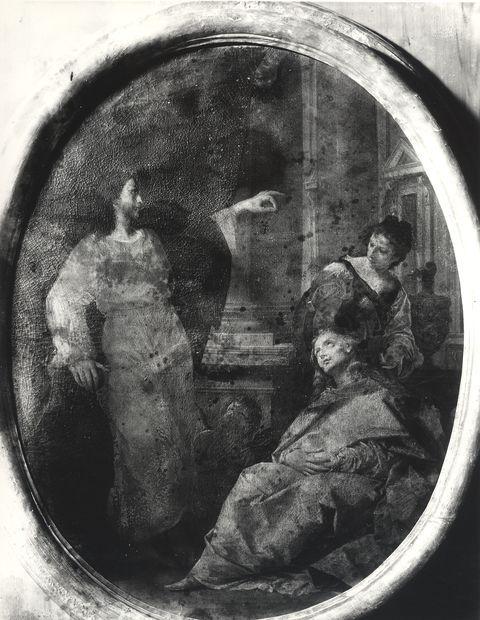 A. Villani e Figli , Donato Creti. Cristo in casa di Maria e Marta. S. Giov. in Persiceto - Ospedale Ricovero - insieme