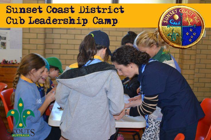 Sunset Coast District Cub Leadership Camp 2014