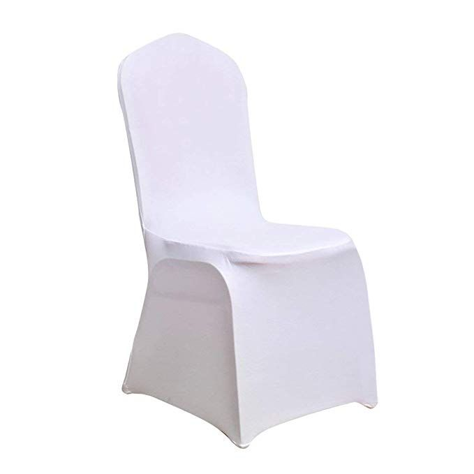 Juvale Banquet Chair Covers 20 Piece Set Of White Foldable Chair
