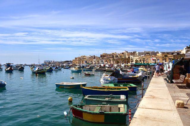 Apen matkat: Malta, osa 21, Marsaxlokkin kalastajakylän markkinat ja perinteisiä luzzuja