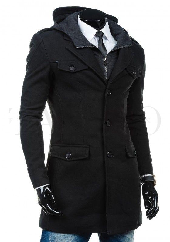 Pánský kabát LIVIO - černý