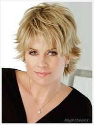 Image result for hairstyles for over 50 with a round face…