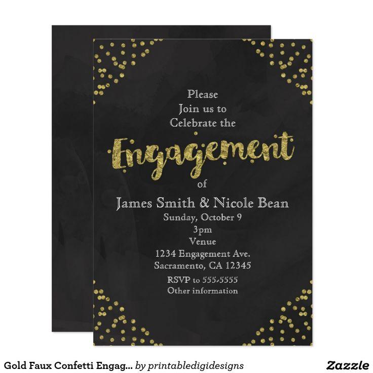 19 best Engagement Invitations images on Pinterest   Engagement ...