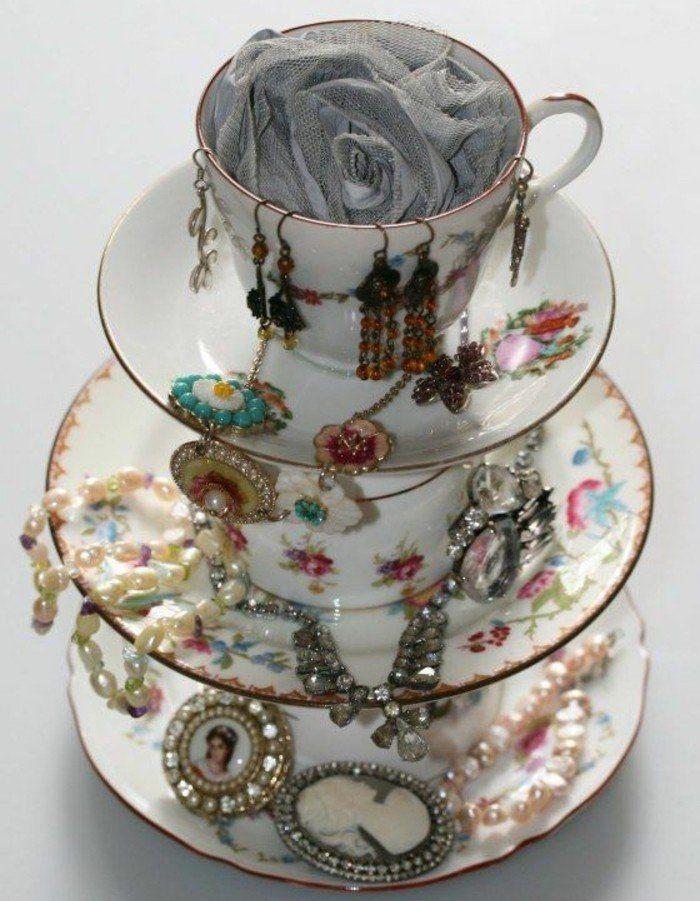 1000 id es sur le th me porte tasse sur pinterest - Porte bijoux mural a faire soi meme ...