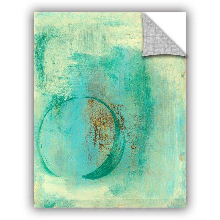 ArtWall Elena Ray Teal Enso Art Appeals Removable Wall Art, Size: 24 x 32, Green