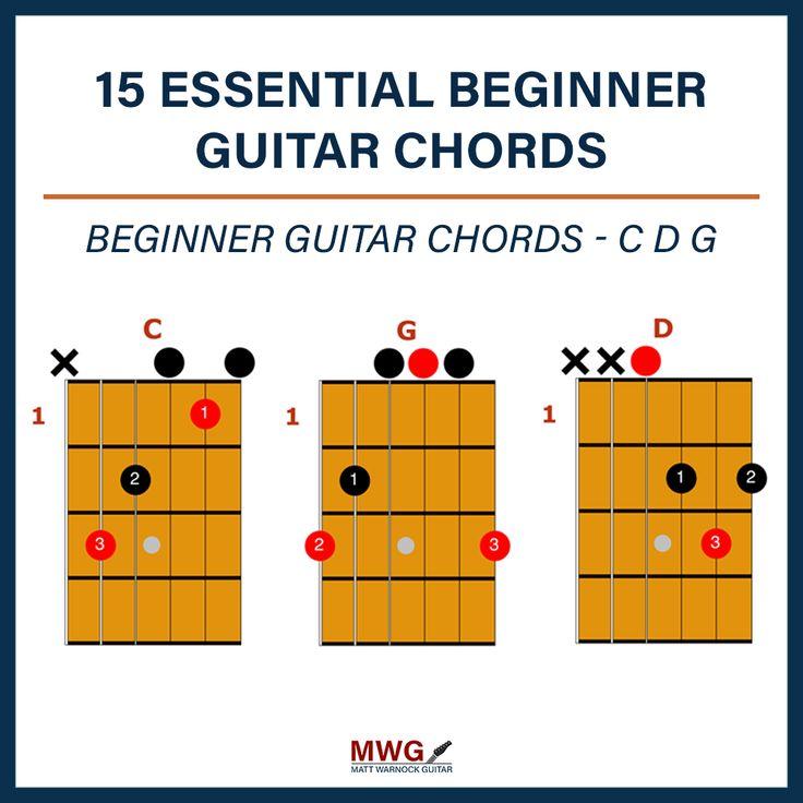15 essential beginner guitar chords guitar chords