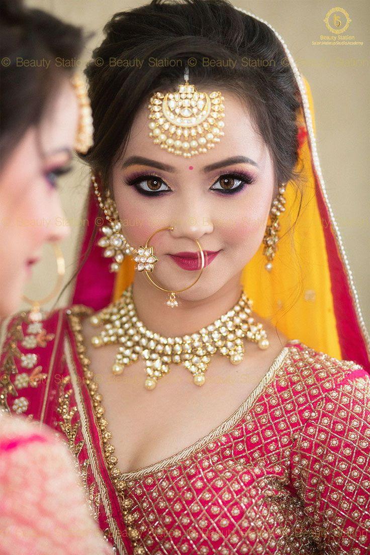 HD Airbrush Bridal Makeup in 2020 Bridal makeup, Indian