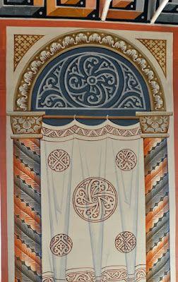 Роспись храмов, мозаика, иконопись.: Роспись храма Святителя Николая чудотворца в Новоспасском ставропигиальном мужском монастыре