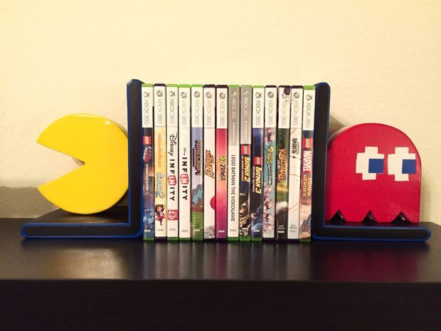Pac Man Bookends