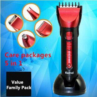 Электрическая 5 в 1 стирающийся много стайлер для стрижки волос бритвы Precisioon уха носа триммер 5in1