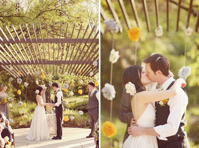 Real Wedding: Fina + Nathan's Eco-Chic Wedding