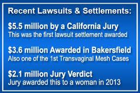 Recent lawsuit and settlement