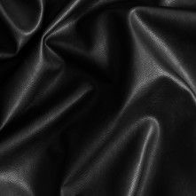 Black Fashion-Weight Faux Leather