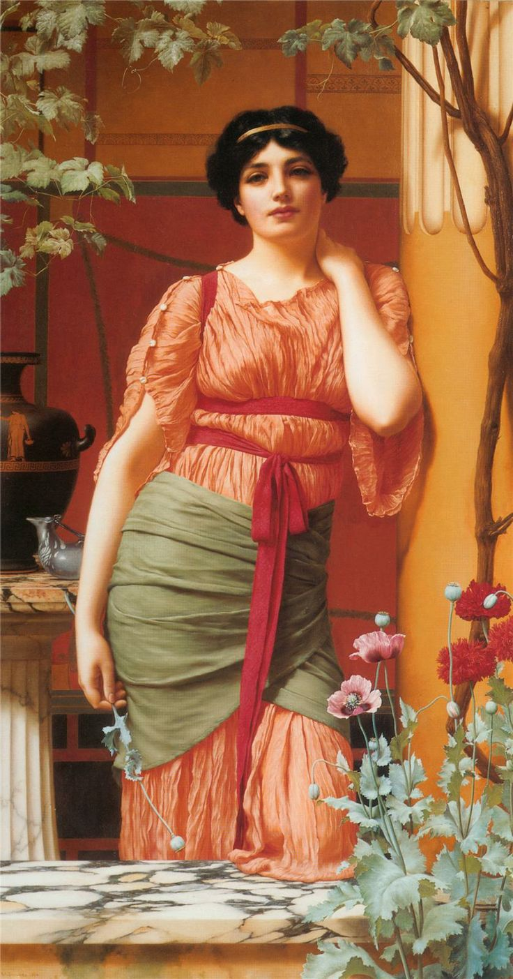 Nerissa - John William Godward - 1906
