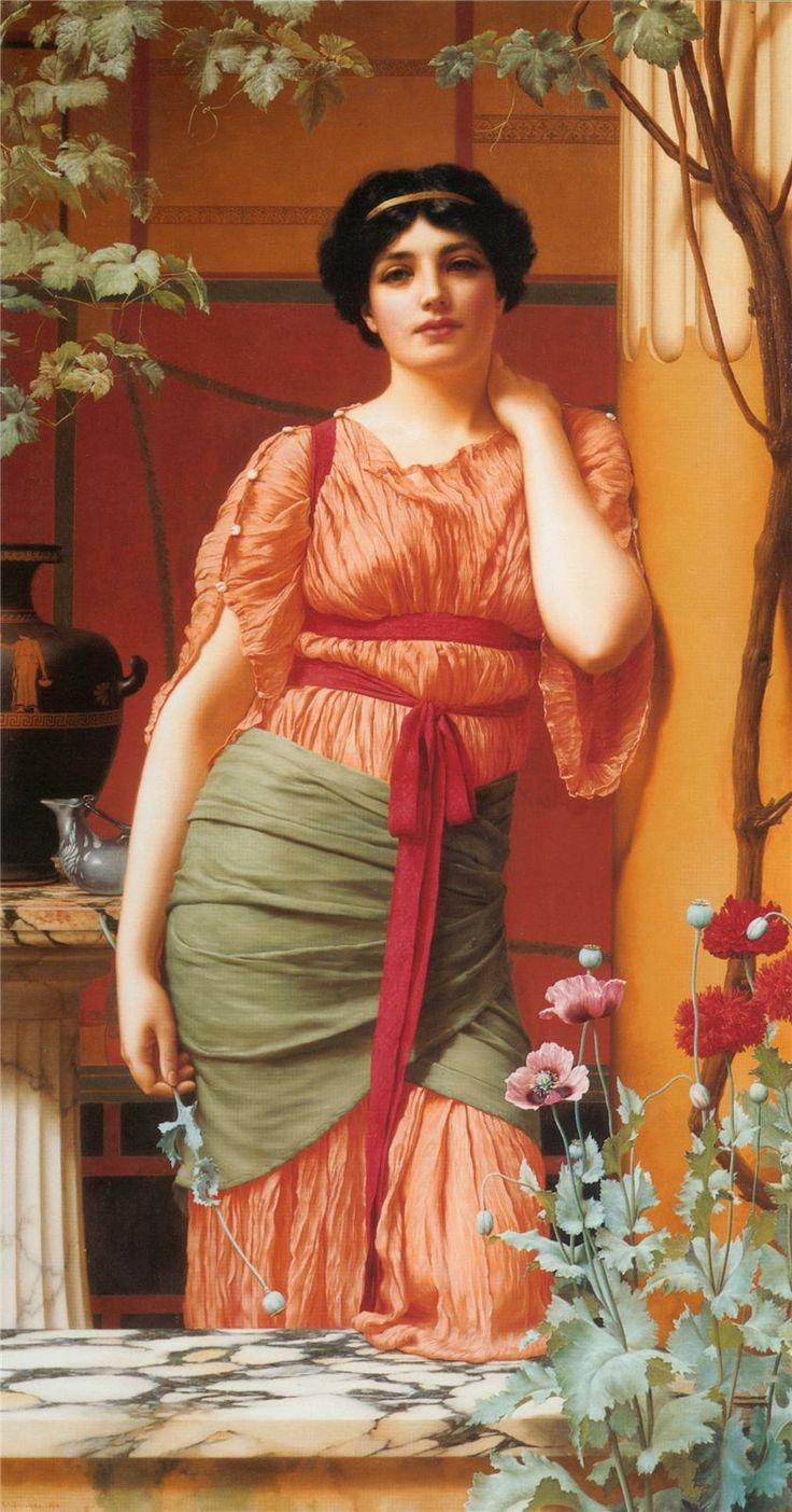 Nerissa - John William Godward - 1906