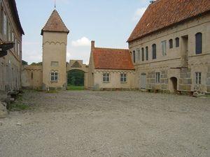 Sweden's Bjersjoholm Castle in Ystad, Skane