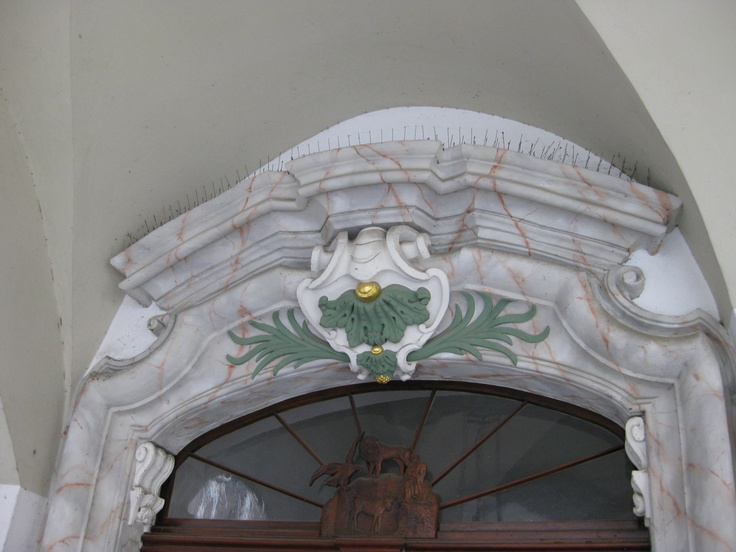 Architectural detail in Goerlitz, Germany