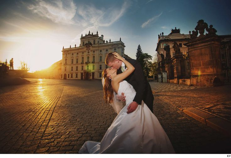Polina & Josh simply fell in love with Prague when they visited here during the cold winter months. So when it came time to have their dream destination wedding they could have gone anywhere in Europe, but instead chose  Prague's historic Old Town Hall on a glorious summer day.