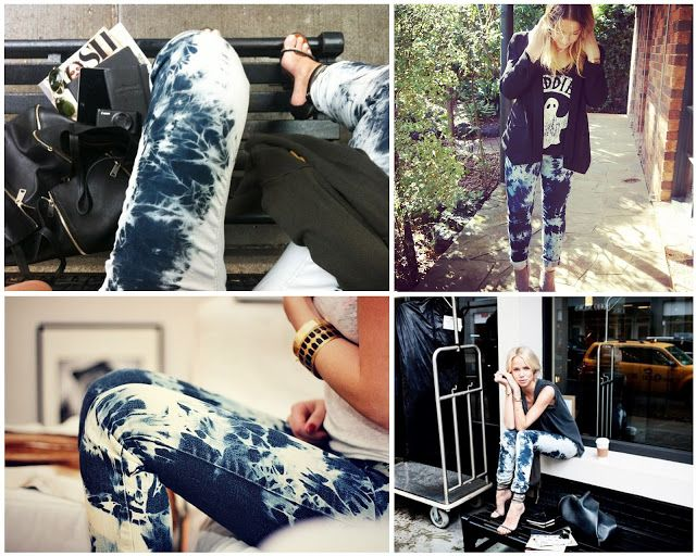 This Fashion is Mine: DIY Tie-Dye Jeans